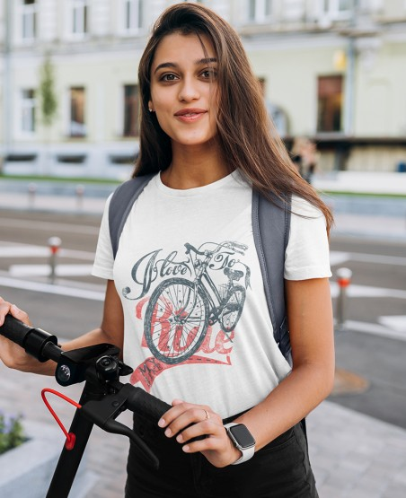 I Love To Ride My Bike T-Shirt